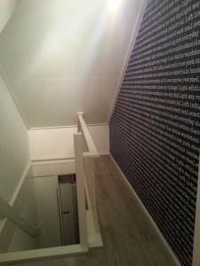 Behang-en-verf-trappenhuis