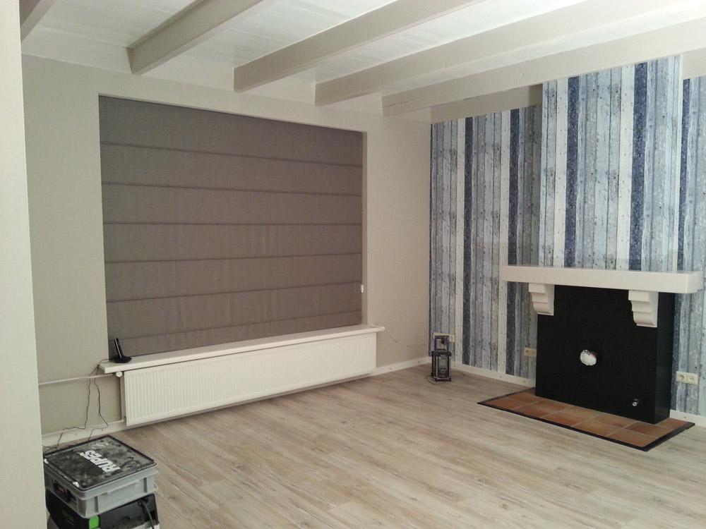 Binnenschilderwerk en behangwerk for Woonkamer verven